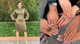 """""""Atrévanse"""": Galilea Montijo impone moda con sus divertidas uñas de diferente color"""