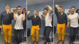 Video: ¿Quién es más adicto a TikTok? Omar Chaparro ó Larry Hernández