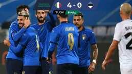 La Azzurra llegará embalado para la UEFA Nations League