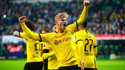 Erling Haaland. La joven promesa noruega ha marcado nueve tantos en sólo 512 minutos de juego. Pasó del RB Salzburgo al Borussia Dortmund por 22.1 millones de dólares.