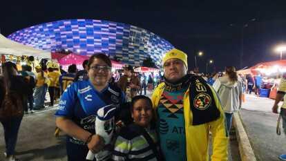 Familias completas acuden para alentar a sus equipos y así tratar de mejorar el camino en el Clausura 2020.