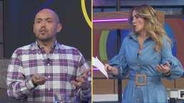 """Andrea Legarreta y Mauricio Clark discuten acaloradamente sobre los comentarios """"homofóbicos"""" que hizo sobre el """"mundo gay"""""""