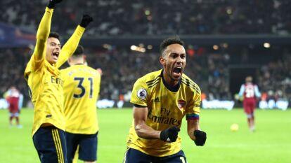 Con Ljungberg en el banquillo, el Arsenal remonta al West Ham y gana luego de siete partidos consecutivos, en la Premier League, sin conocer la victoria.