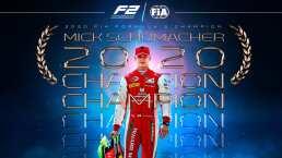 Mick Schumacher se corona campeón de la Fórmula 2 y alimenta la leyenda