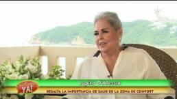 ¡Lupita D'Alessio graba disco en Acapulco!