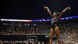 La impresionante actuación de Simone Biles en los nacionales
