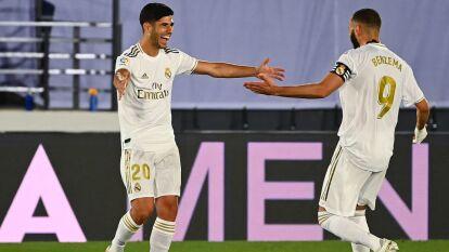 Real Madrid volvió a ganar y va firme por La Liga | De la mano de Benzema y Asencio, derrotaron al Alavés 2-0; los de Zidane se acercan a conseguir un título más en el futbol español.