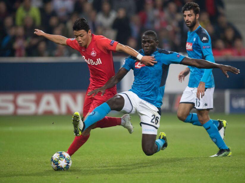 FC Salzburg v SSC Napoli: Group E - UEFA Champions League