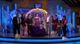 Mitzy regala vestido a Quinceañera 10 HOY