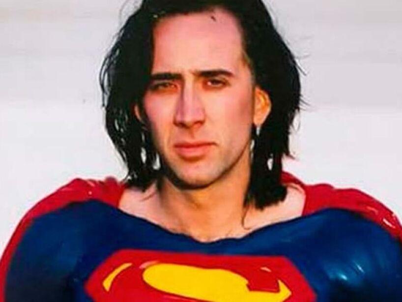4. El Superman de Tim Burton: La cinta llevaría por título Superman Lives y tendría a Nicolas Cage como protagonista.