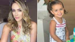 Renny, hija de Jacky Bracamontes, provoca ternura al salir llorando durante entrevista de la conductora
