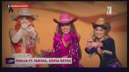 Thalía está imparable a lado de Sofía Reyes, Farina y Myke Towers