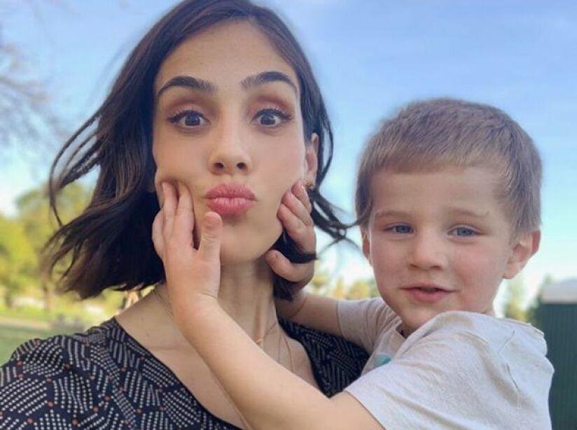 Momentos más tiernos entre Sandra Echeverría y su hijo, Andrés de Lozanne