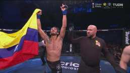 Javier Reyes venció a Joe Neal con la 'mata leones'