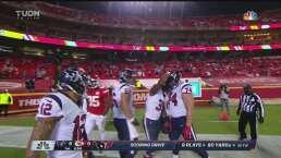 ¡El primero de la temporada! Johnson coloca adelante a Texans