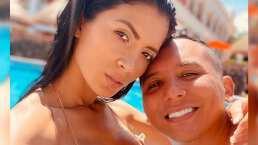 Así la están pasando Edwin Luna y Kimberly Flores en la Riviera Maya