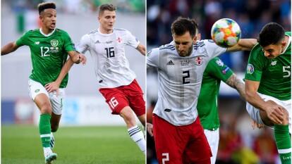 En partido de clasificación para la Eurocopa 2020, reparten puntos en Irlanda.