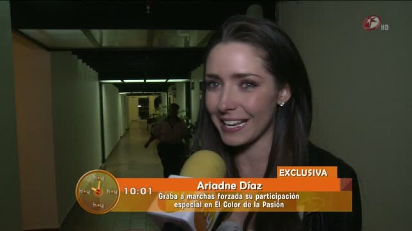 Ariadne Díaz podría ser parte de los 50 rostros más bellos