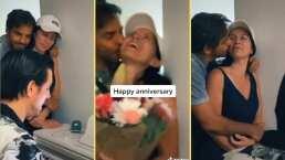 Eugenio Derbez sorprende a Alessandra Rosaldo con una serenata y flores por su aniversario de bodas
