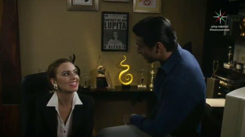 Raúl se hace cargo de la carrera de Lupita