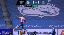 ¡Miguel Ponce salva a Chivas! El Rebaño empata 1-1 con Puebla