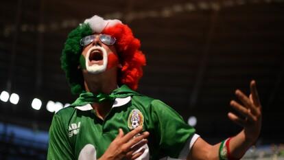 México se presentó el 27 de junio del 2018 para el juego ante Suecia y los aficionados llegaron animados y esperanzados por el liderato del Grupo F.