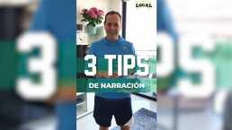 Clases de narración: Paco Villa te da sus mejores tips