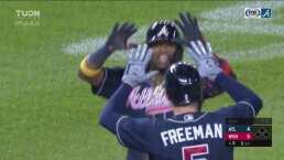 ¡Hay vida! Ronald Acuña batea un home run y Braves se colocan 4-5