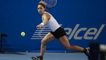 La mexicana competirá por llegar a la gran final del Abierto Mexicano de Tenis 2020.  | Renata Zarazúa es la primera mexicana en llegar a las semifinales del torneo.