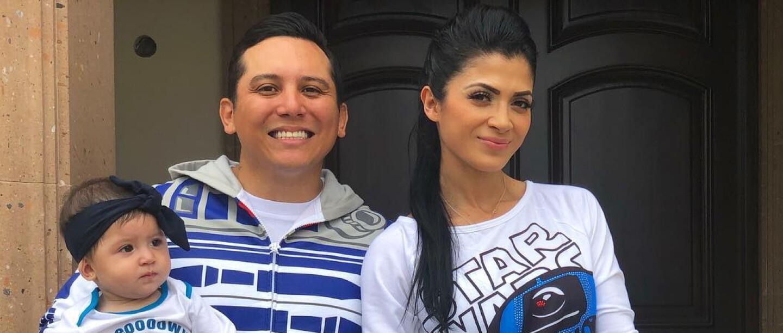 Las veces que Edwin Luna y Kimberly Flores compartieron estilo