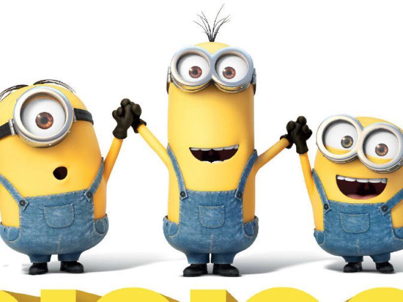 2. Minions: Estos personajes amarillos de Mi Villano Favorito recaudaron 1.1 billones de dólares con su película.