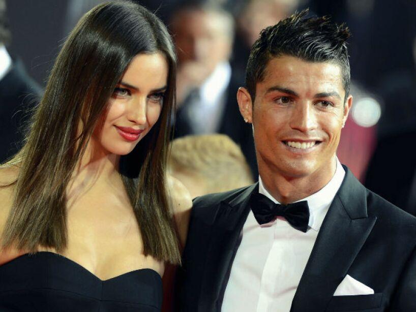 5. Cristiano Ronaldo: Tras 4 años de noviazgo y planes de boda, se separó de la modelo rusa Irina Shayk.