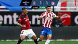¡Nada los separa! Chivas y Toluca dividen puntos al empatar 1-1