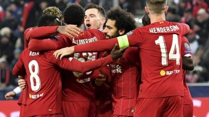 Con goles de Naby Keïta al 57 ya Mohamed Salah al 58, Liverpool clasifica como líder del grupo E.