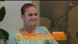 Laura Carmine no tiene planes para posar desnuda