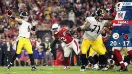 Pittsburgh Steelers 23-17 Arizona Cardinals - Resumen- NFL Semana 14