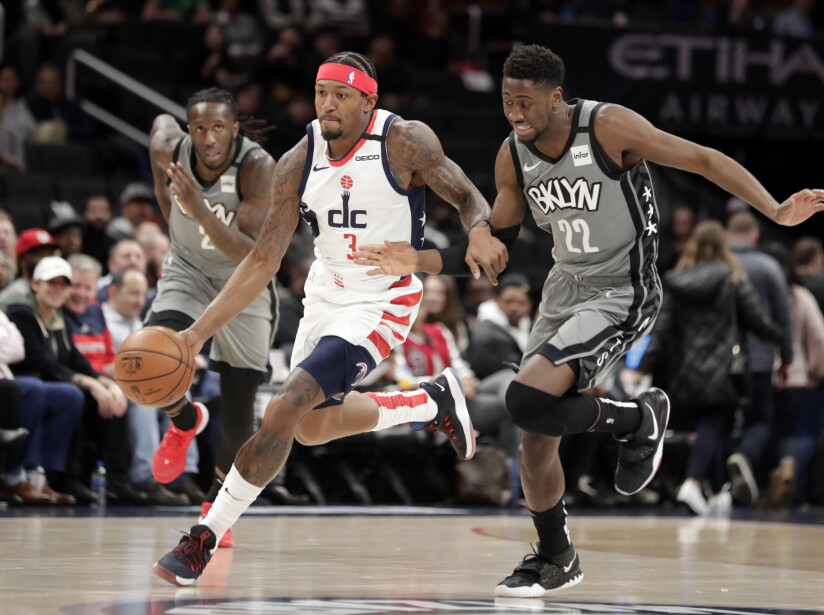 Nets Wizards Basketball