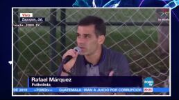 ¡Rafael Márquez pide respeto para su familia y niega ser un criminal!
