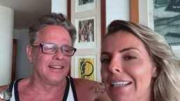 Israel Jaitovich apuesta una pizza con Alexis Ayala en videollamada ¡y le llega a su domicilio!