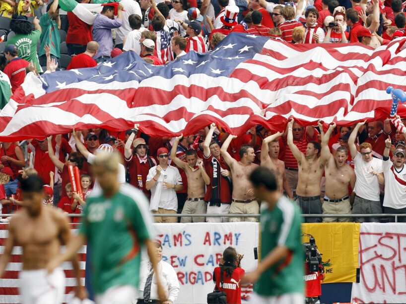 Gold Cup Mexico USA Soccer