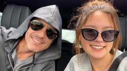 Video: Mauricio Ochmann y su hija Lorenza aprovechan el tiempo juntos y hacen un viaje por carretera