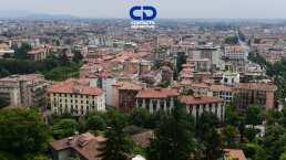 Bérgamo, epicentro de la pandemia del coronavirus