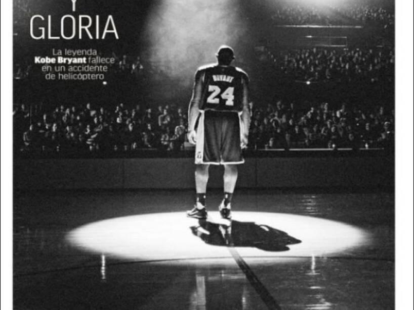 Kobe Bryant, periódico, MARCA.jpg