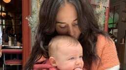 Zuria Vega enternece al mostrar cómo su hijo Luka gatea a sus 7 meses