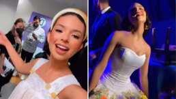 Ángela Aguilar y los asombrosos vestidos que lució en Premios Juventud