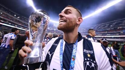 Logró consagrarse como campeón del Torneo Apertura 2019 de Liga MX en su primera campaña con Rayados de Monterrey y ahora pertenece al selecto grupo de europeos campeones en México.