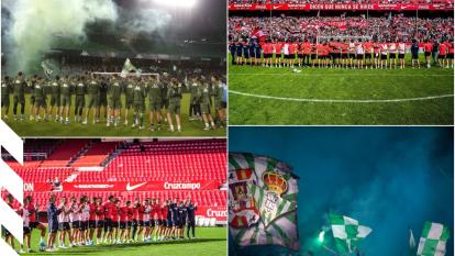 Así se vivieron los últimos entrenamientos del Real Betis y del Sevilla previos al Derbi de este domingo.