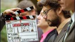 El profesor de 'La Casa de Papel' comparte emotivo video: 'último día de rodaje, me abrazan mis hermanos'