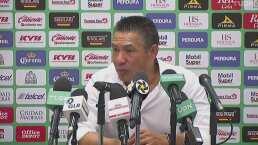 Ignacio Ambriz se va molesto por el empate