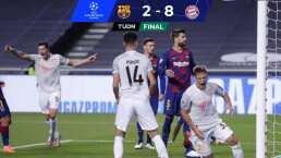 Bayern Munich vapulea al Barcelona y es semifinalista